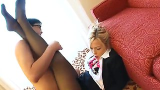 AMWF pantyhose fuck