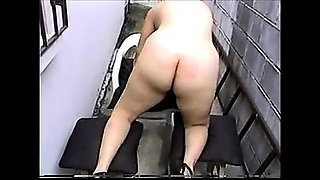 Horny mature gaping her pussy