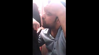 Indian Lover In Cafe Kissing And Girls Boobs Sucked