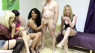 Rough femdom Holly Kiss in humiliation treatment