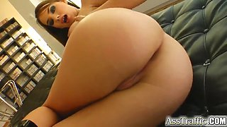 hot anal sex with a gorgeous babe