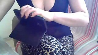 Sexy cam girls talks dirty in her bedroom