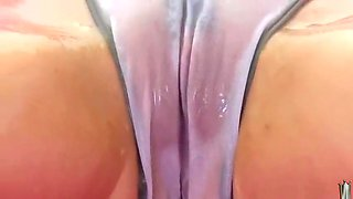 Godlike natural breasty Tessa Lane having sex in latex