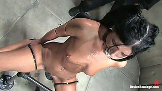 Bondage Action and Toying Fun for India Summer in BDSM Vid