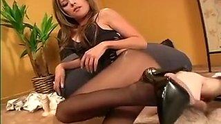 Amazing amateur POV, High Heels sex scene