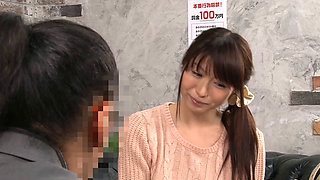 Japanese Housewife's First Interview For Sex Work