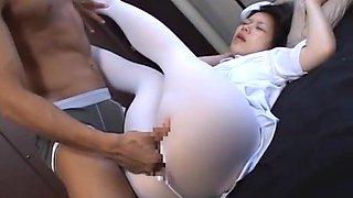 Fabulous Japanese whore in Crazy Fetish, Fingering JAV movie