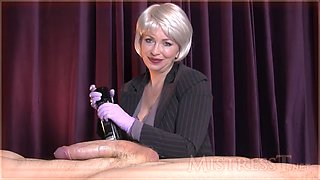 Mistress t cock control instruction