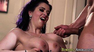 Emo babes big tits cummed