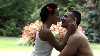 Sperm sprayed sweetheart