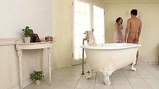 Best Japanese whore Risa Mizuki in Hottest Cumshots, Bathroom JAV clip