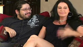 Natural Brunette Swinger MILF Antics
