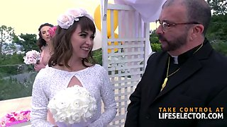 Out of control wedding with riley reid &amp bridesmaids