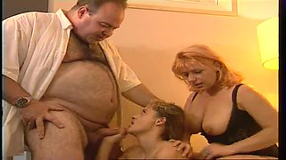 Teen and milf find it simpler to play together