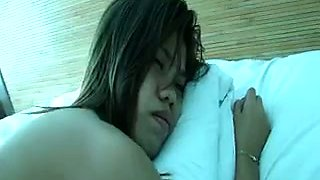 Amateur used Filipina bitch got her pussy fingered and teased hard