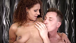 HITZEFREI Big tit redhead fucked by sexy stranger