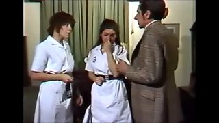 Spanked nurse