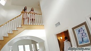 Three big asses have an orgy first time Bridesmaids
