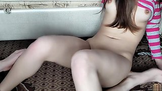 Step sister helped her brother to cum before dad came home - LazyCookies