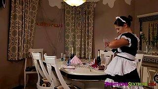 twentyonesextreme - sexy euro maid gets caught stealing