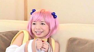 Hottest Japanese girl Hinata Sato in Fabulous Handjobs, Swallow JAV clip