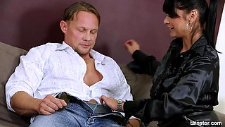 Tera Joy is a mature chick who loves riding a thick dick
