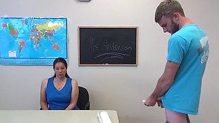 the after school masturbation club 05 - miss anderson handjob