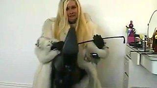 Louise- Mistress in furs.