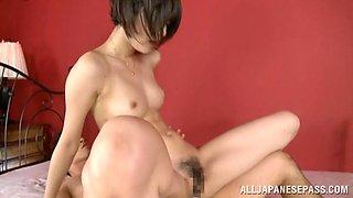 Mikoto Tsukawa  hot Asian milf in hot position 69