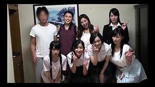 Naughty Japanese schoolgirls explore their sexual desires