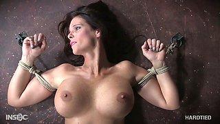 Kinky woman punishes husband's mistress Syren De Mer