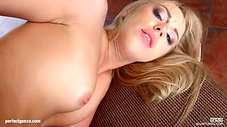 Kira thorn gets her holes filled up with jizz of creampie by