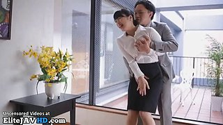 jav wife cheats husband with her boss