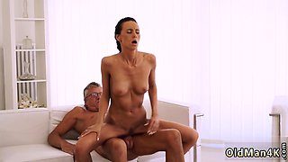 Old women creampie Finally she's got her boss dick