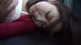 Hottest Japanese girl in Crazy Car JAV video