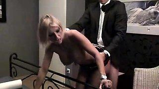 Smoking Fetish Blonde Blowjob 01