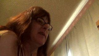 Huge Cummer on webcam