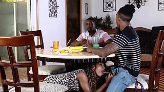 Ebony black female midget Family Betrayals