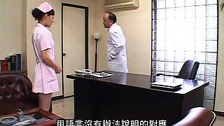Seductive Oriental nurses getting fucked by horny patients