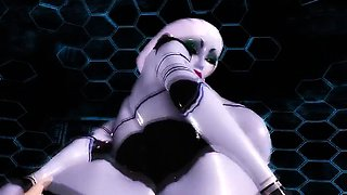 Virtual Robo Pussy - Horny 3D anime sex collection