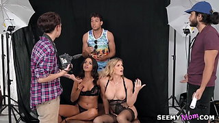 Cory Chase and Vienna Black want hard dick