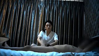 Lovely Chinese message girl add more fuck service to custome