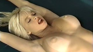Stunning majestic blondie pounded in missionary and doggy style position