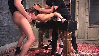 Kacie Castle's Punishment Game - TheTrainingofO
