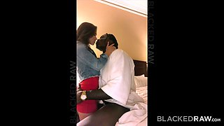 BLACKEDRAW Horny Teen Loves To Cuck Her BF With BBC