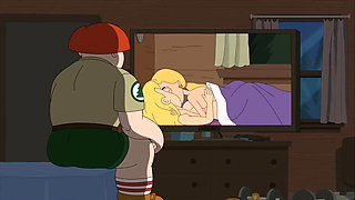 Brickleberry - Ethel Anderson And Amber Kissing