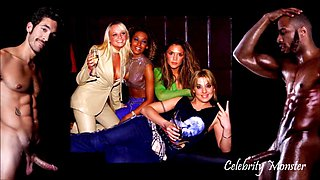 Celebrity gloryhole