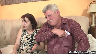 His innocent girl seduced by not granny and old daddy