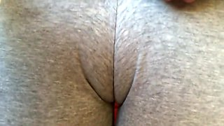 Epic Cameltoe Before Gym, After I Had A Squirting Orgasm