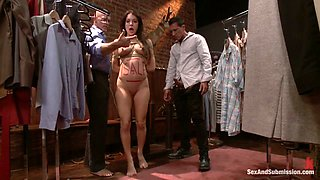 Amy Brooke & Mark Davis & Marco Banderas in The Shoplifter - SexAndSubmission